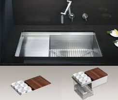 Integrated Kitchen Sinks Expand Counter Space Mecc Interiors