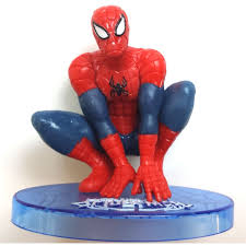 Spiderman Dc Comics Hero Pose 8 Cake Topper Figurine Large
