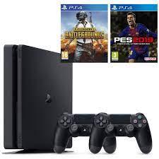 Sony PS4 Slim 1 TB Oyun Konsolu + PS4 Pes 19 + PS4 Pubg + 2. Fiyatı