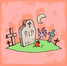 Resultado de imagen de dibujo tumba Rip halloween color