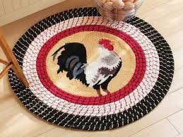 rooster rugs round