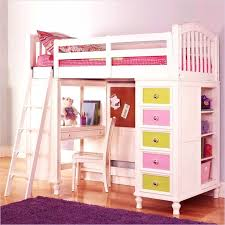 bedroom designs for girls with bunk beds. Kids Loft Bed With Desk Girls S Bedroom Ideas Throughout  2 Home Designs For Bunk Beds