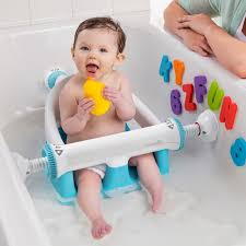 summer infant baby bath seat super safety toddler chair non slip comfort ring