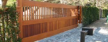 custom entrance gates california