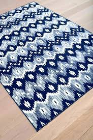 navy area rug 5x8