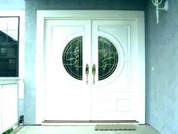 small exterior doors narrow double