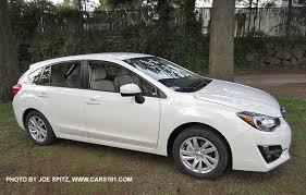 subaru impreza 2015 hatchback white. Unique White 2015 Impreza 5 Door Hatchback Crystal White Premium Model Shown Inside Subaru Hatchback White 1