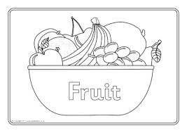 Fruit Colouring Sheets Sb6798 Sparklebox