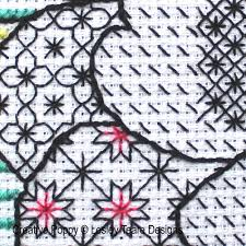 Blackwork Cross Stitch Charts Blackwork Patterns