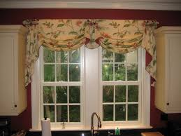 Valance For Kitchen Windows Cafe Curtains Diy Image Of Kitchen Window Valances Diy After All