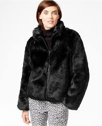 michael michael kors michl michl kors short faux fur coat