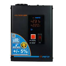 <b>Стабилизатор</b> напряжения <b>Энергия Voltron 2000</b> (HP) купить за ...