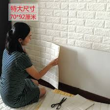 Decorative Foam Tiles Brick Pattern 60D Three dimensional Wall Stickers Decorative 17