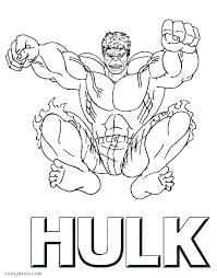 incredible hulk coloring pages free printable incredible hulk coloring page best hulk coloring page print free