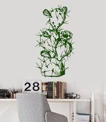 Pflanze Blume Natur Vinyl Wandtattoos Wohnzimmer Schlafzimmer