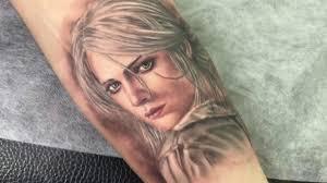 Tattoo Ciri The Witcher