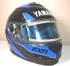 Yamaha Fuel Helmet By Fxr Snowmobile Helmet Size Xl Blue And