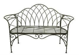 Aluminum Garden Bench  Outdoor Furniture  Wind U0026 WeatherGarden Metal Bench