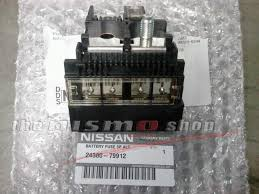 nissan factory oem positive battery fuse connector cable holder nissan factory oem positive battery fuse connector cable holder link 24380 79912