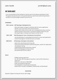 Profile Section Of Resume Example Resume Examples Skills Section