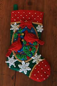 Handmade Christmas Stockings Handmade Bucilla Felt Stocking Free Personalization 9000 Via