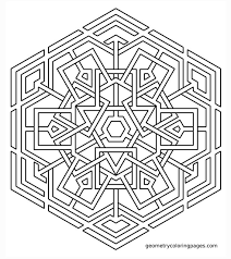 Small Picture Get This Hard Geometric Coloring Pages to Print Out 97316