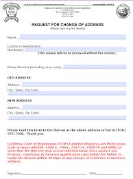 guard card registration change of address