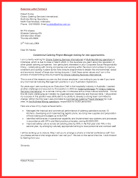 Proper Letter Format Good Resume Format