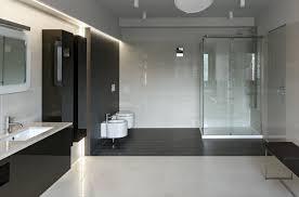 Badezimmer Schwarz Wohndesign