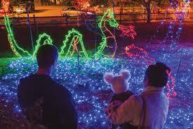 Swan Lake Sumter Sc Christmas Lights Fantasy Of Lights Now Open At Swan Lake Iris Gardens The
