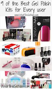 Gel Nail Light Target 9 Of The Best Gel Polish Kits For Every User
