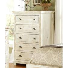 White Distressed Furniture White Painted Bedroom Furniture With Oak Tops .