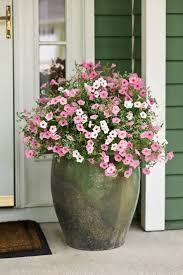 giant clay spring flower planter welcome spring 17 diy porch decor ideas