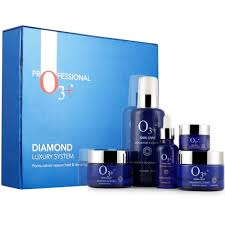 o3 diamond luxury system kit for bridal makeup and ultra glow treatments