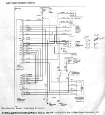 toyota mr power steering system circuit diagram 2