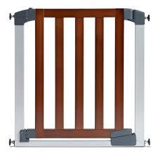 Babydan Designer Wood And Metal Gate