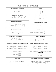 algebra formulas google search school algebra algebra formulas google search