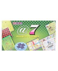 Fun Business Games Ratnas Fun Stroke Business 7 In 1 Game Online India Buy Board Games