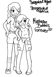 Anime Best Friends Drawings Djanup 4572ef725fe9 Bff Coloring Pages