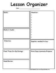 unit organizer routine template 25 best lesson planning images lesson plan format classroom
