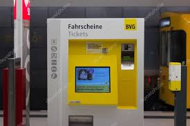 Gas Pump Vending Machine Delectable BVG Ticket Vending Machine In Metro Station In Berlin Germany
