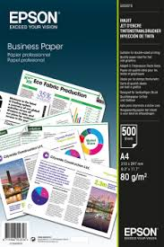 Business Paper Business Paper A4 500 Sheets Epson