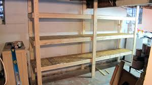 full image for shelving plans and garage planshow to build wood storage shelves for tall cabinets