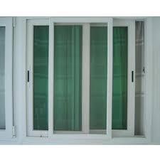 2 5 track upvc sliding door 2 glass panels 1 mesh panel