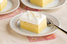 Magic Layered Lemon Cake Recipe My Food And Family
