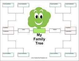Family Tree For Template Ppt Jeopardy Templates Google Slides