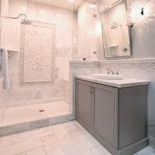 marble bathroom with awesome design ideas decoration for carrara tile 0