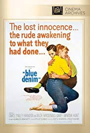Blue Denim [Blue Jeans] *** (1959, Carol Lynley, Brandon De Wilde,  Macdonald Carey, Marsha Hunt, Vaughn Taylor, Warren Berlinger) – Classic  Movie Review 7623 | Derek Winnert