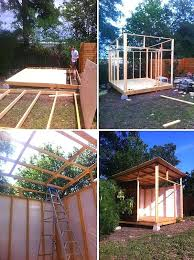 pre built tiny houses. Build Small Houses View In Gallery The Beginning Phases Of Tiny House Project Pre Built .