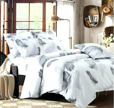 grey duvet cover king white and grey duvet covers black bedding set feather cover queen king